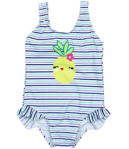 HANHOU Badeanzug Badeanzug Mädchen Kinder Badebekleidung Kinder Off Shoulder Badeanzug Beach Wear Pool Urlaub Schwimmoutfit Rock Set 3,O-L