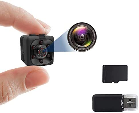 Smart Camera 1080P with 32GB SD Card Gortheous Mini Camera Nanny Cam Full HD with Night Vision product image