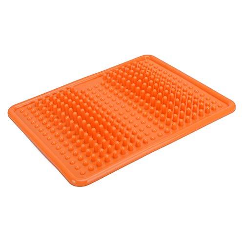 Holspe Fußmassage Mat, Akupressurmassagematte zum Schmerz- und Stressabbau, Fußreflexzonenmassagematte,Ihren Schlaf zu verbessern und Sich wohl zu fühlen
