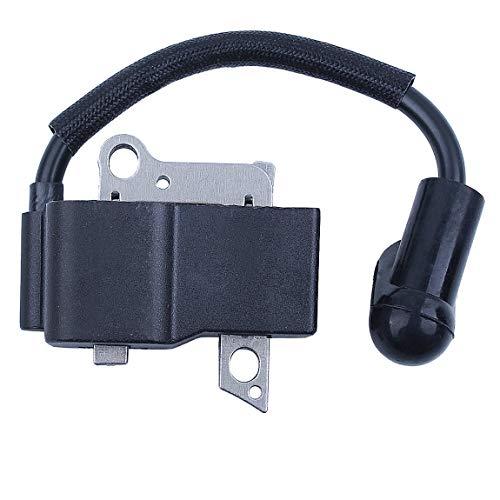 Haishine Módulo Magneto de Bobina de Encendido para Recortadora Husqvarna 232R 235R 225R Husqvarna 435440445450 Piezas de Motosierra # 537038501# 573935702