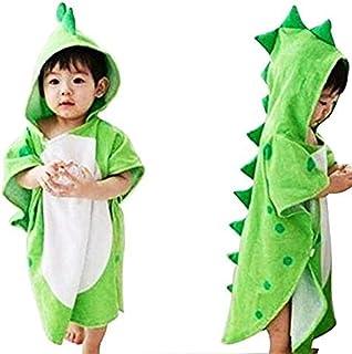 Toalla de baño con capucha para bebés y niños, 100% algod