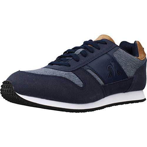 Le Coq Sportif Unisex-Kinder Jazy Classic Gs Sneaker, Kleid Blau, 34 EU