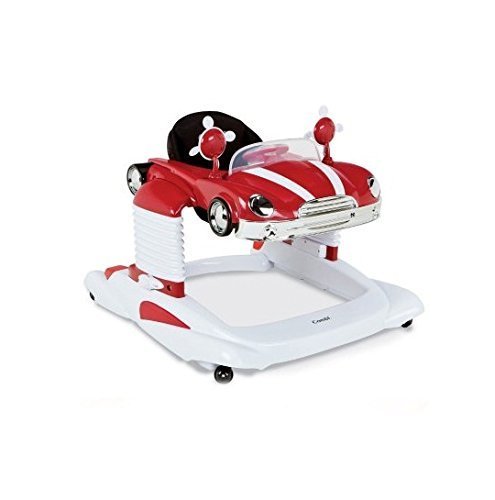 Combi All-In-One Baby Walker Mobile Entertainer, Red
