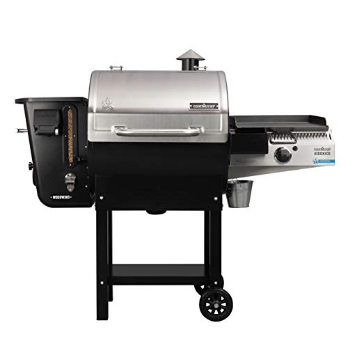 Camp Chef 24 in. WIFI Woodwind Pellet Grill & Smoker with Sidekick (PG14) – WIFI & Bluetooth Connectivity