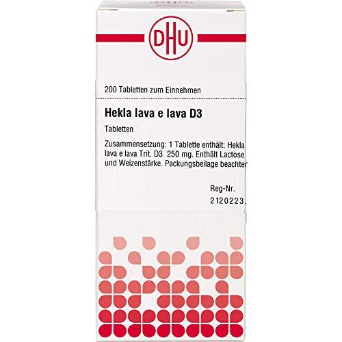 DHU Hekla lava e lava D3 Tabletten, 200 St. Tabletten