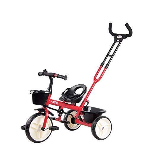 New Zjnhl Children's Fun/Children Kids Tricycle Trike Stroller First Bike 2 In1 WiRemovable Push Han...