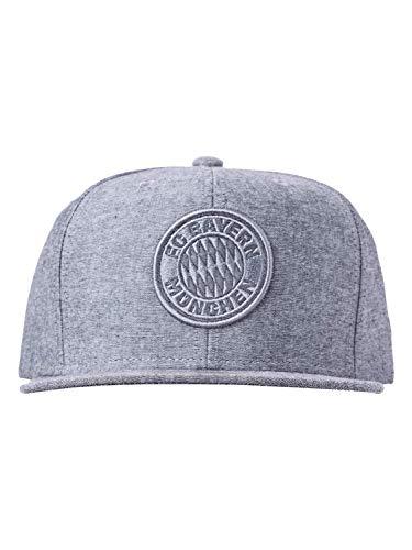 FC Bayern München M&N Snapback Logo grau
