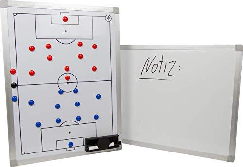 ELF Sports Magnet - Fußball Taktiktafel inkl. Zubehör - 3 Größen wählbar, Größe:90 x 60 cm