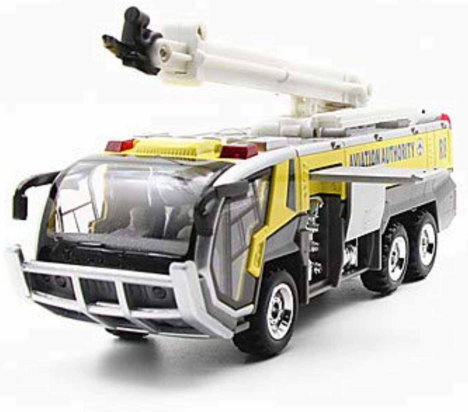 Fire Engine Vehicle Toy Truck Construction Vehicle Toy Car Model Car 1 32 Simulation Kid's Unisex Boys' Girls' Toy Gift