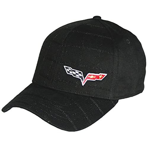 Corvette Central 13715-03 Fitted Hat,Blue