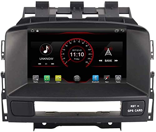 FWZJ Autosion In Dash Android 10 Car DVD Player Radio Head Unit Navegación GPS Estéreo para Opel Astra J Buick Excelle XT GT Buick Verano Soporte Bluetooth SD USB Radio OBD WiFi DVR 1080P