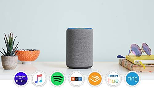All-new Echo (3rd Gen) - Smart speaker with Alexa - Heather Gray