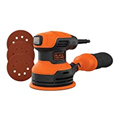 Removes Paints and Varnishes Quickly: Powerful 2.4 Amp motor removes paint and other materials at a speed of 12,000 orbits per minute Smooth, Clean Finish: Achieve a swirl-free finish and even texture with this random orbital sander Easy Cleanup: Bui...