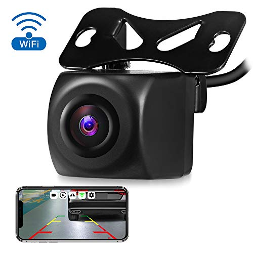 portable hotspot for cars AUTOLOVER Wireless Backup Camera HD 720p Backup Camera for car, Vehicles WiFi Backup Camera with Night Vision / IP67 Waterproof for iPhone, iPad or Andriod Devices