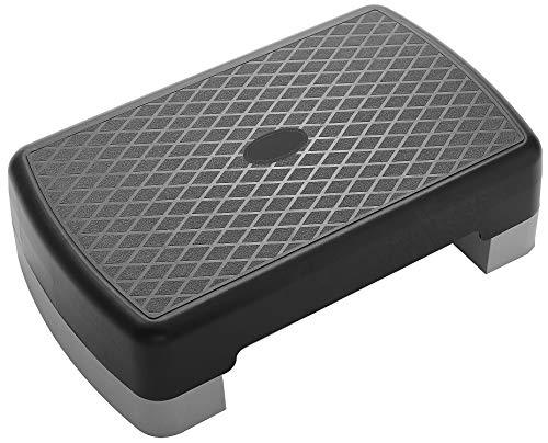 BalanceFrom Adjustable Workout Aerobic Stepper Step Platform Trainer, Gray