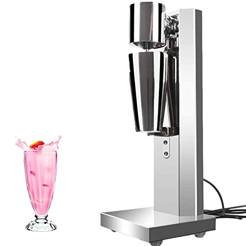 Milkshake Machine Drink Mixer Stainless Steel Milkshake Maker with 800ML Cup for Home and Commercial Use