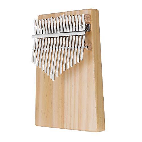 ZIEO Pocket Thumb Finger Piano17 Tasten Holz Kalimba Daumen Klavier Finger Percussion Stimmhammer Finger Daumen Klavier