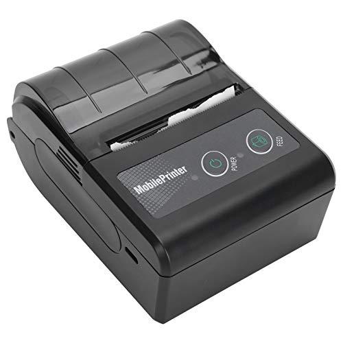 Impresora térmica de etiquetas Bluetooth, Velocidad de impresión: 3-5 pulgadas/seg, Impresora de facturas personal portátil...