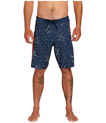 Volcom Men's Stars and Stones MOD 20 Board Shorts, Navy, 28