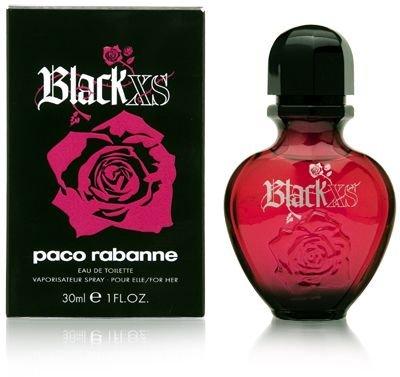 Paco Rabanne Black XS for her femme / woman, Eau de Toilette, Vaporisateur / Spray 30 ml, 1er Pack (1 x 30 ml)