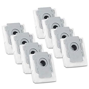 iSingo Vacuum Bags Compatible iRobot Roomba i & s Series i 7150  i7+ i7 Plus  7550  i3+ 3550  i6+  6550  i8+ 8550  s9  9150  s9 Plus  9550 955020  Automatic Dirt Disposal Bags 8 Pack