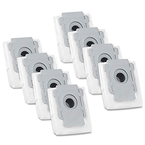iSingo Vacuum Bags Compatible iRobot Roomba i & s Series i(7150) i7+ i7 Plus (7550) i3+(3550) i6+ (6550) i8+(8550) s9 (9150) s9 Plus (9550, 955020) Automatic Dirt Disposal Bags, 8 Pack