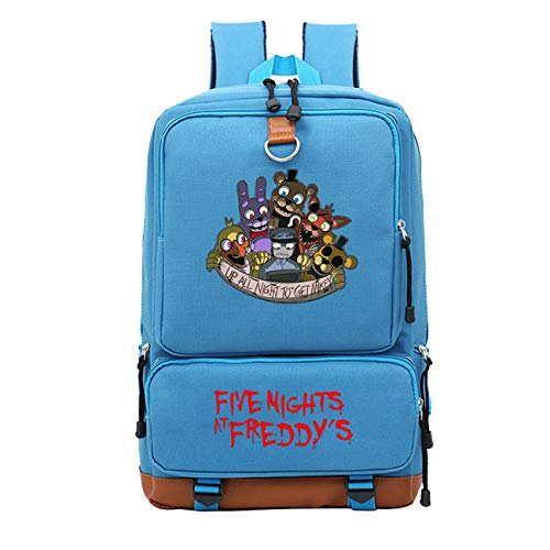 GD-Tshirts Five Nights at Freddy's Backpack-Kids Lightweight School Bookbag Laptop Backpack-Backpack for Travel,Outdoor