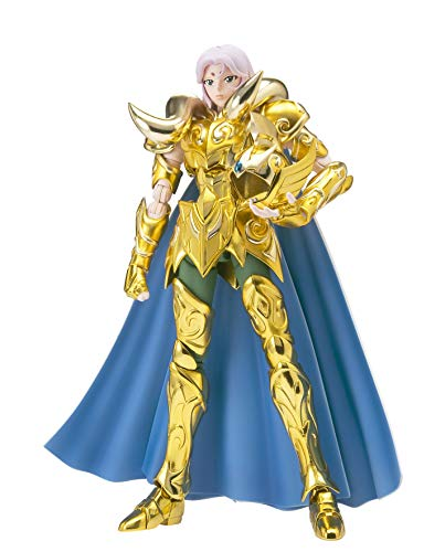Bandai 4573102617125 - Figura de San Seiya Myth Cloth Ex Aries Mu Revival, 18 cm