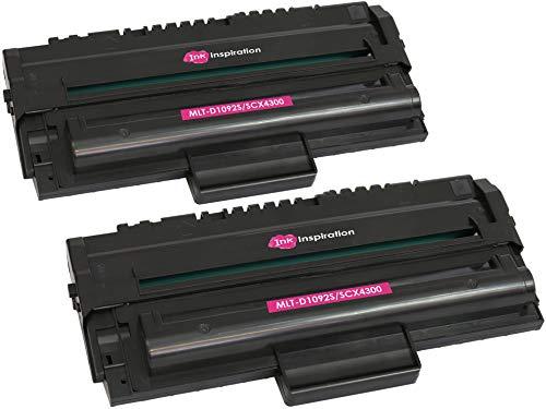 2 Tóners compatibles con Samsung MLT-D1092S SCX-4300 | 2000 páginas