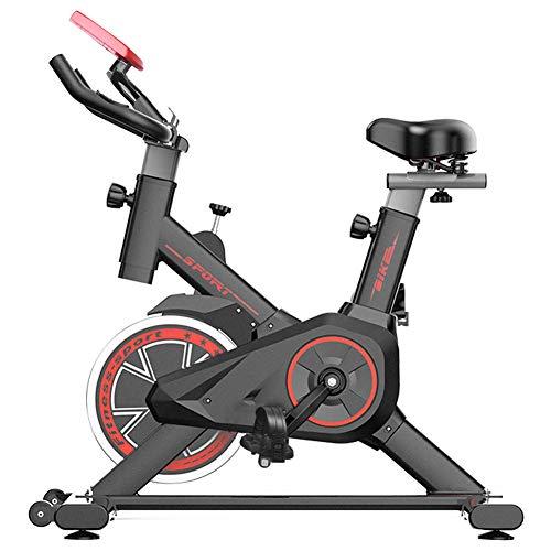 DnKelar piccola cyclette per casa, bici da seduto a casa con monitor digitale, trainer gambe multifunzione, trainer bici con 6 altezze di seduta regolabili, fitness bike Per donne 100 kg caricabile