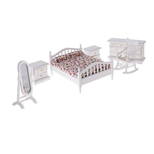 Miniatur hölzernes Schlafzimmer Möbel
