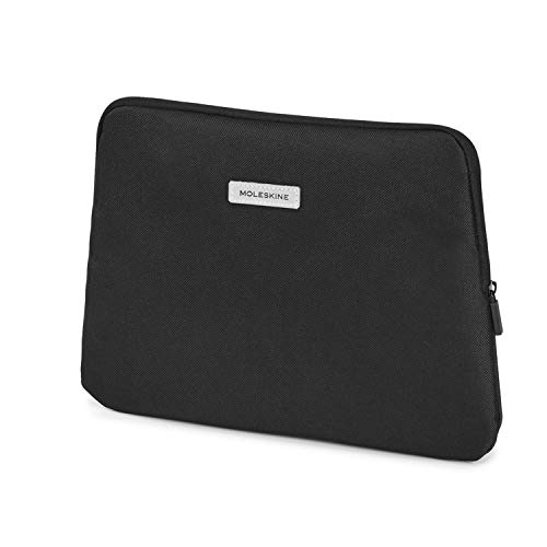 "Moleskine City Travel Pouch Mini Borsello da Viaggio in Tessuto, per Device 10"" e Tablet, 29.5 x 2 x 21 cm, Nero"