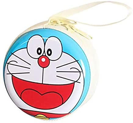 Jadebin Anime Round Purse Wallet Pouch Bag Key Holder for Headphones/Coin