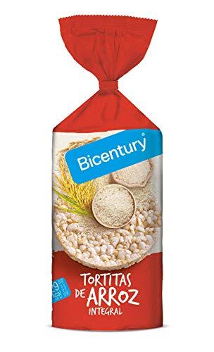 Bicentury Tortitas de Arroz Integral Nackis, 130g