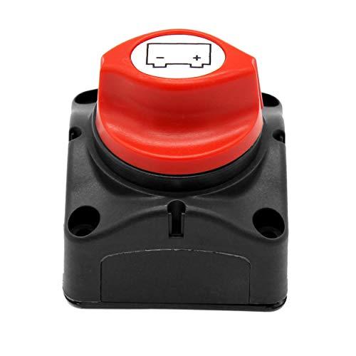 Losenlli 600A Nominal Automático Actual Batería Interruptor de energía Batería de energía Perilla Protectora Interruptor Desconectador de desconexión del automóvil Interruptor