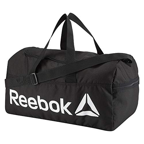 Reebok Act Core M Grip Borsone, 25 cm, 30 liters, Nero (Negro)