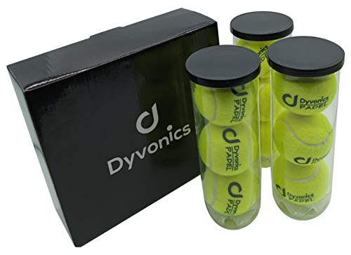 Dyvonics Lot de 3 packs de 3 balles de padel
