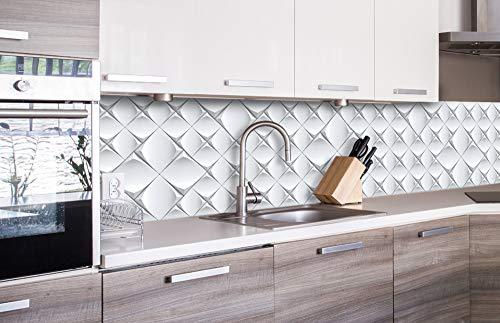 DIMEX LINE Küchenrückwand Folie selbstklebend 3D KUNSTWAND | Klebefolie - Dekofolie - Spritzschutz für Küche | Premium QUALITÄT - Made in EU | 260 cm x 60 cm