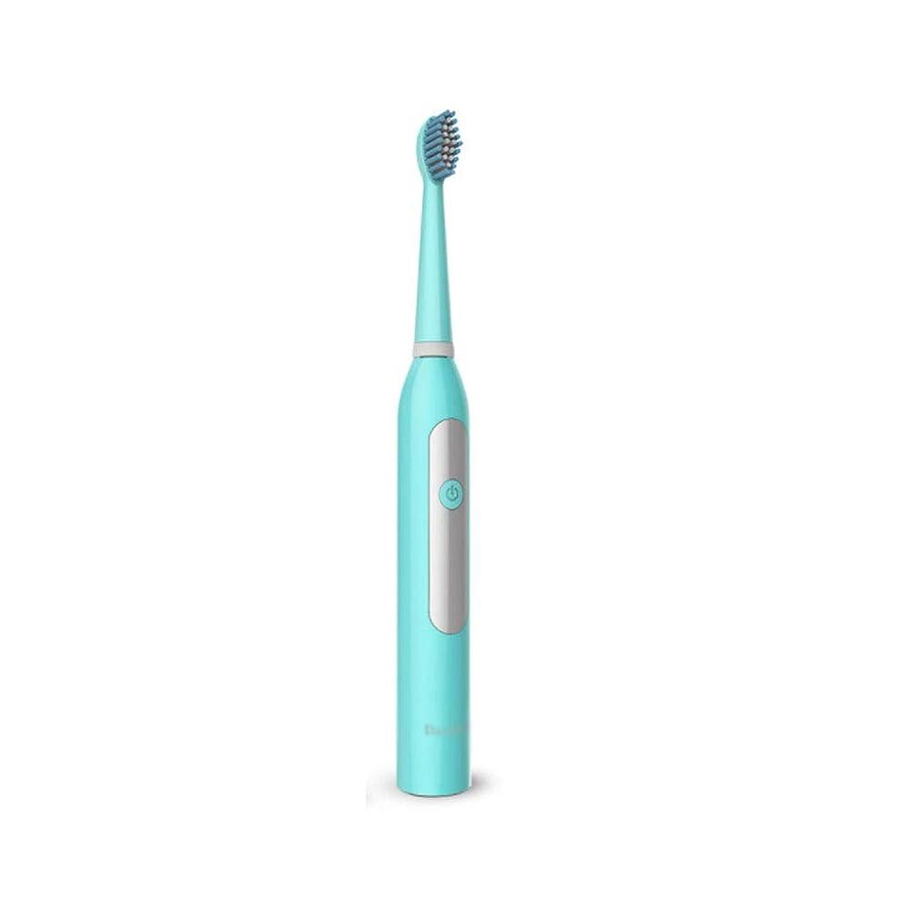 入り口ポーク暴徒電動歯ブラシ、大人の家庭の自動柔らかい髪,Blue