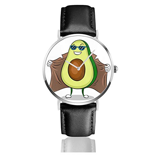 Avocado Exhibitionist In Raincoat Men Wrist Watches Genuine Leather For Gents Teenagers...