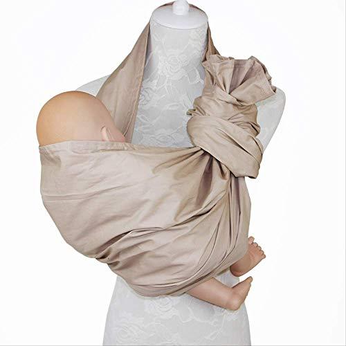 AHJSN Ergonómico Baby Child Baby Sling Towel Has Ring Buckle Mesh Respirable doble anillo de algodón Sling Khaki