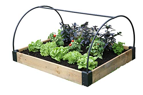 Haxnicks Bed010102 Raised Bed Frame, Multi-color, 120 x 100 x 50 cm