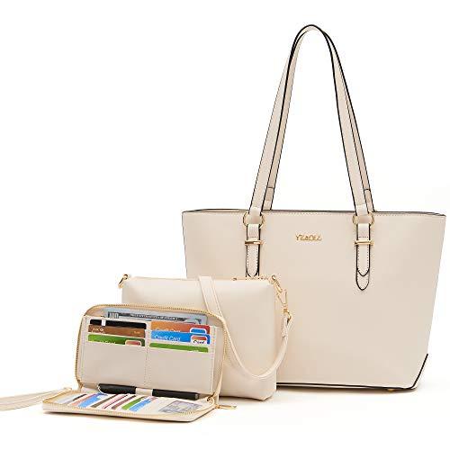Geldbörsen und Geldbörsen-Set für Damen, Schultertasche, Arbeitstasche, Handtaschen, Crossbody-Taschen, Geldbörse mit passender Geldbörse, 3-teilig