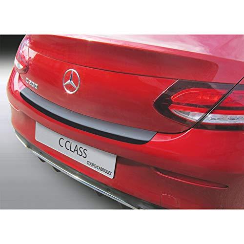 Unbekannt RGM RBP662 ABS Heckstoßstangenschutz Mercedes C-Klasse (A205) Cabrio 2016-/ (C205) Coupé 2015-Schwarz