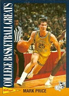 Mark Price Basketball Card (Georgia Tech Yellow Jackets) 1992 Kellogs College Basketball Greats #10