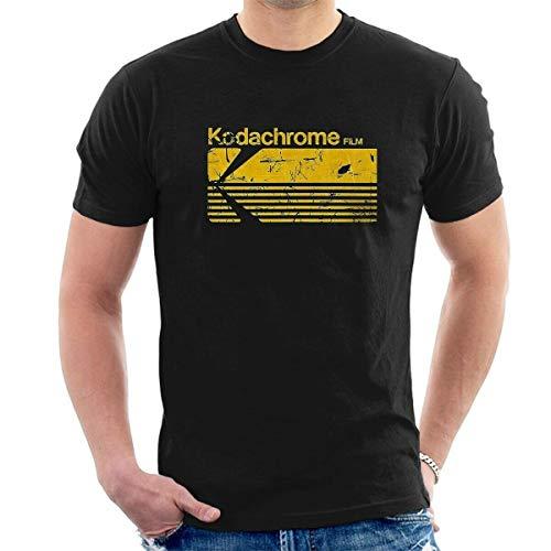ddd KODACHROME Film T-Shirt Kodak Distressed Retro Vintage Photography all Size T13 Black XL