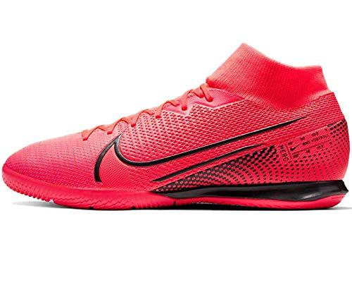 Nike Superfly 7 Academy IC, Botas de fútbol para Hombre, Rojo Laser Crimson Black Laser Crim 606, 47.5 EU