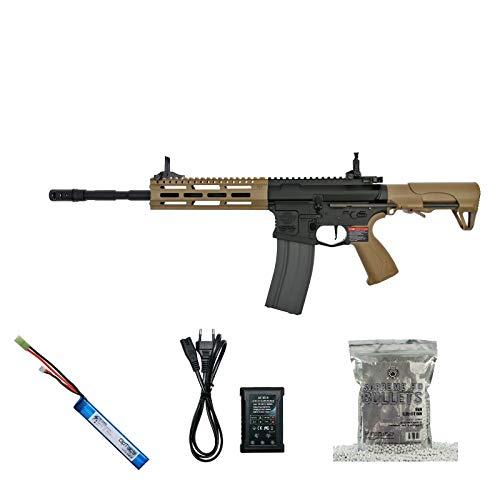 Set !!! Softair - Gewehr - G & G CM16 Raider L 2.0E - AB 14, Unter 0,5 Joule
