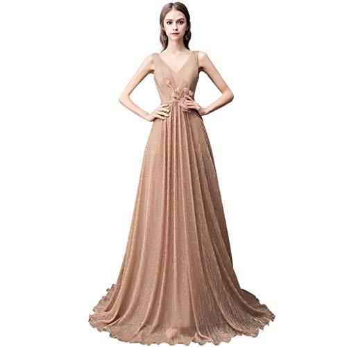 Lista de los 10 más vendidos para vestido elegante color oro