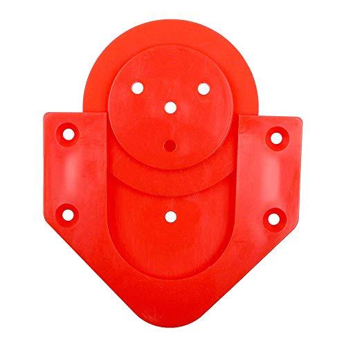 McDart Board Halterung ScoFix Rot, Wandhalterung für Dartboards